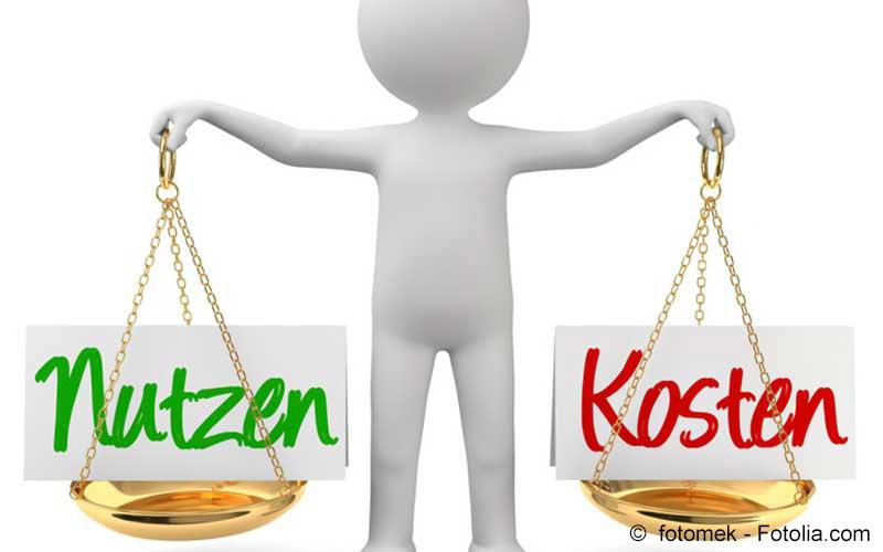 Waage Nutzen Kosten
