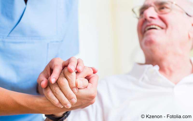 Älterer Patient