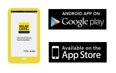Gelbe Liste App