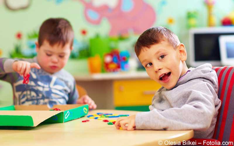 Kind mit Behinderung